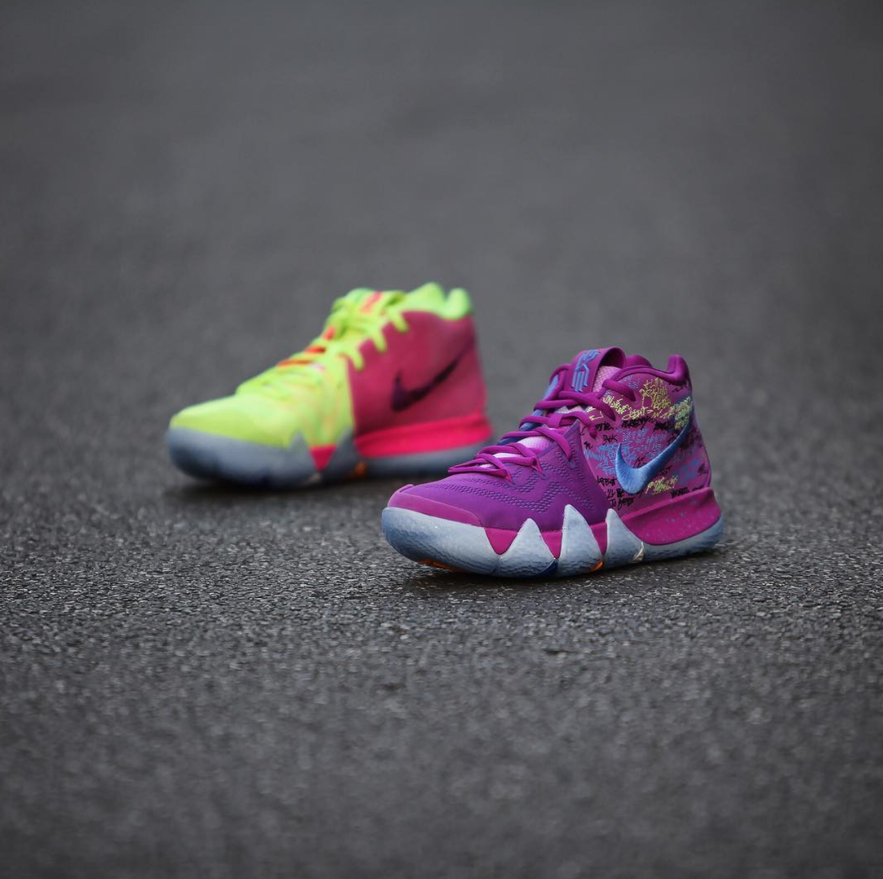 info for 2b5e6 093b9 nike kyrie 4 confetti 22 - WearTesters