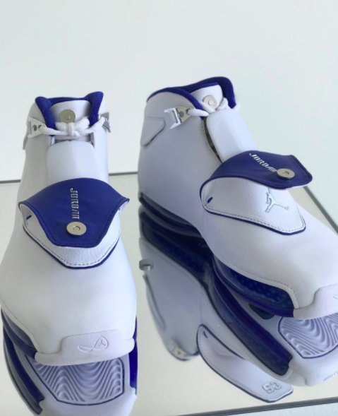 Air Jordan XVIII White:Royal 2