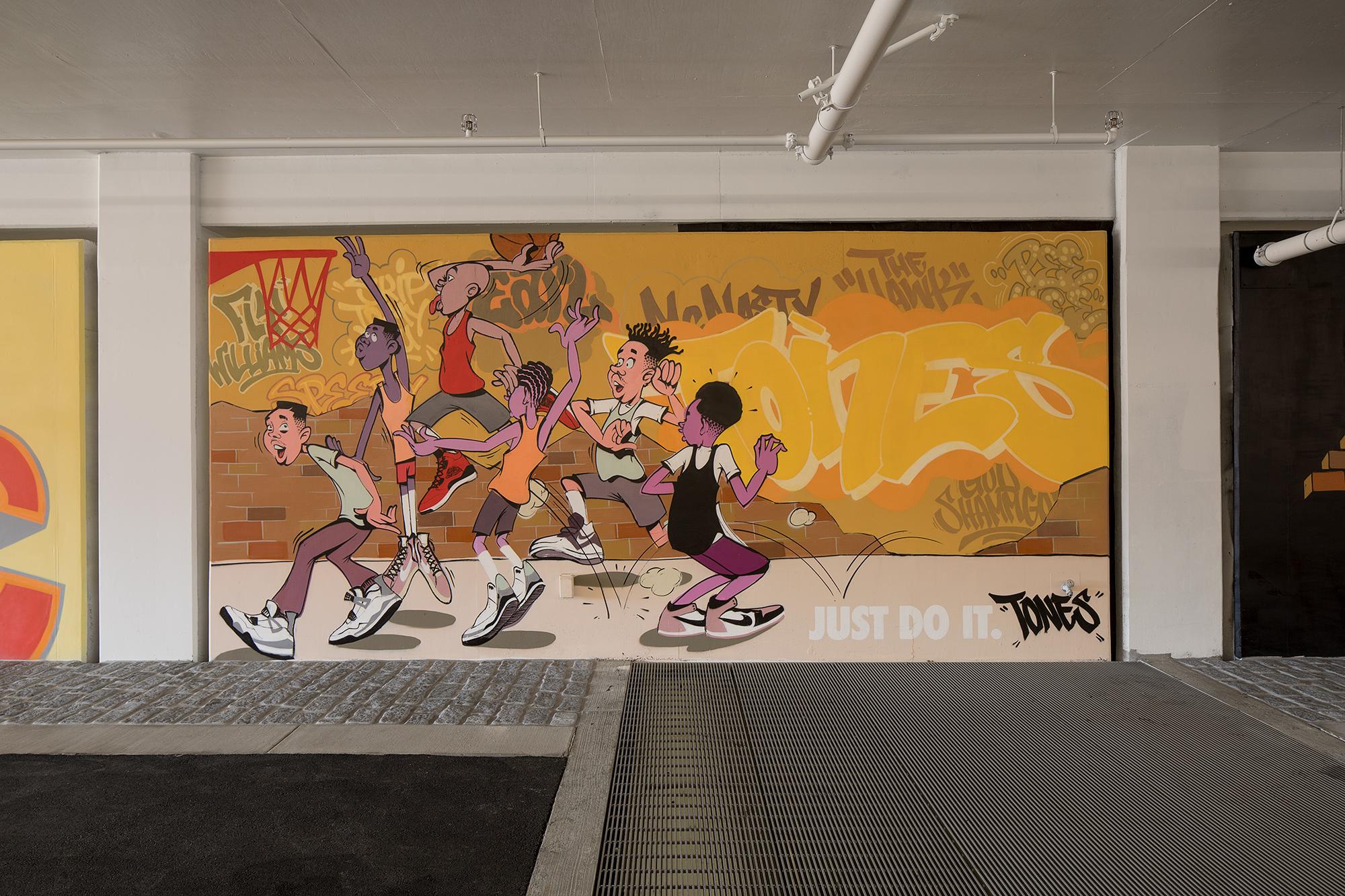 Nike NYC Garage tones one