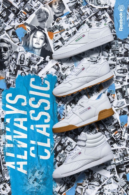 Reebok classic SS18 always classic campaign 2
