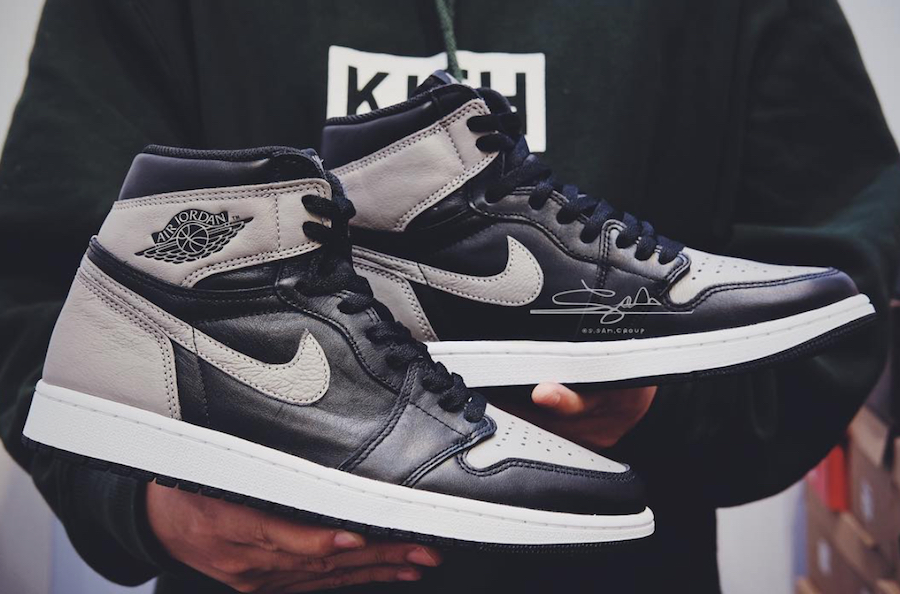 The Air Jordan 1 Retro High OG Shadow Gets Release Date9