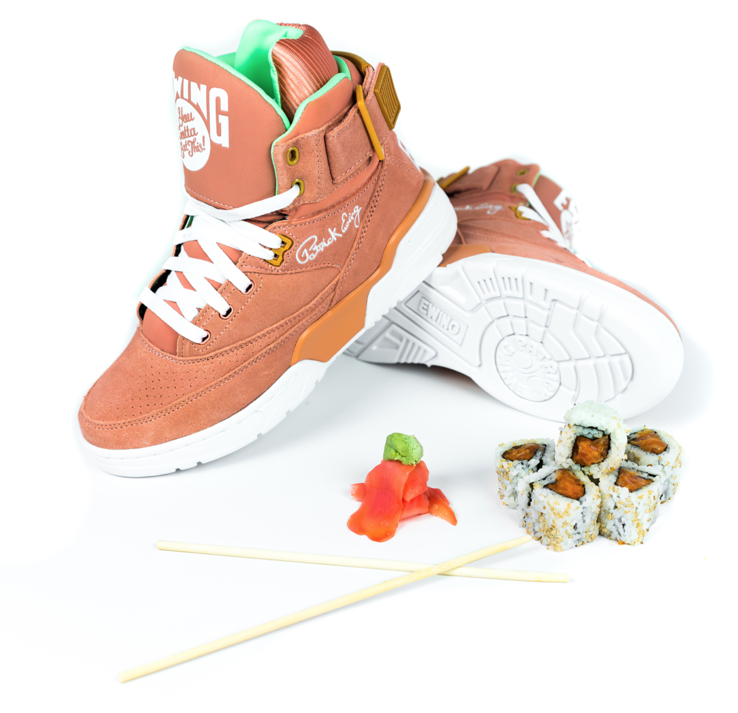 You Gotta Eat This x Ewing 33 Hi Sushi