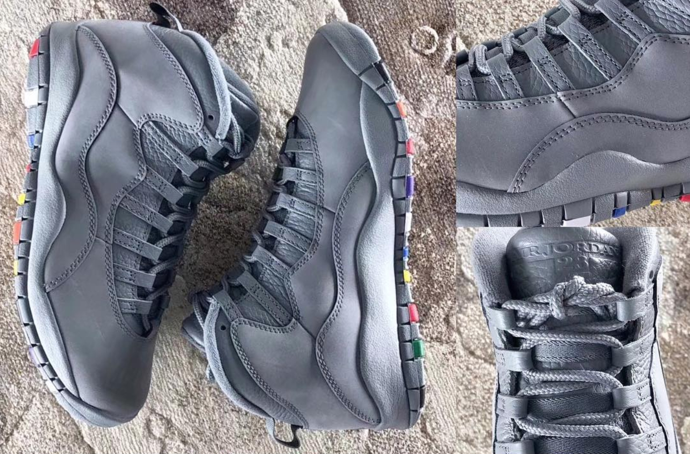 air jordan 10 retro cool grey multicolor 11