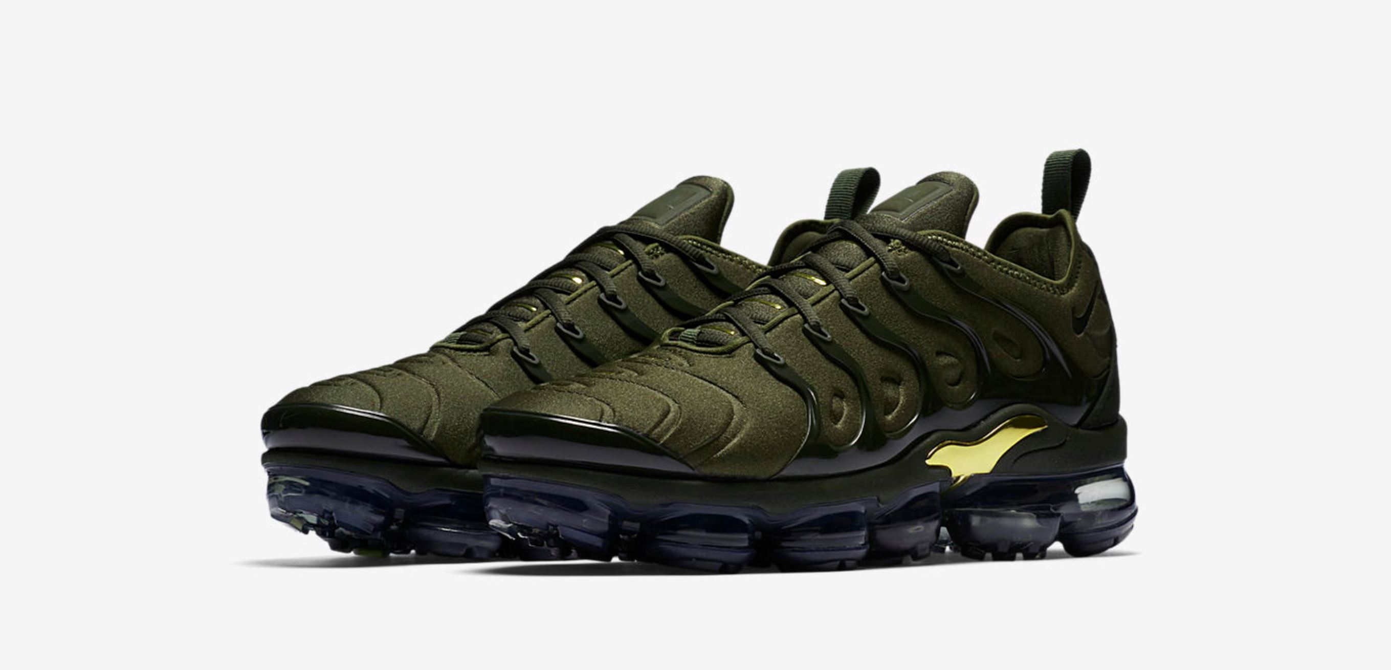 Nike Air VaporMax Plus 'Olive' Drops