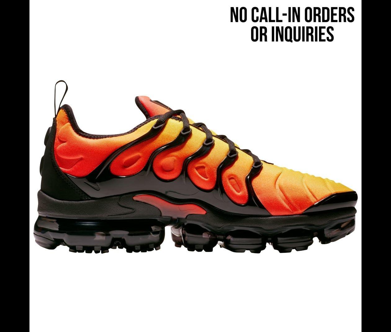 nike air vapormax plus total orange