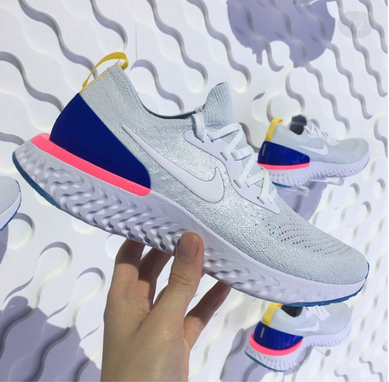 Nike Epic React Flyknit 3