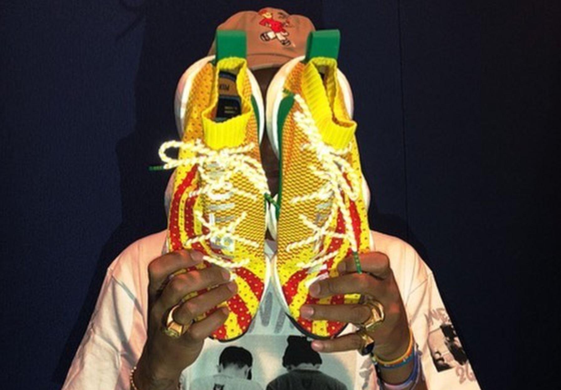 pharrell adidas Crazy BYW boost you wear