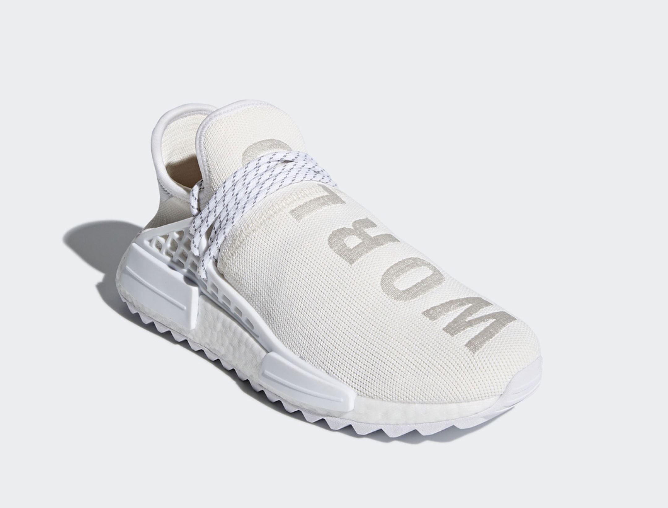 pharrell adidas hu NMD trail white