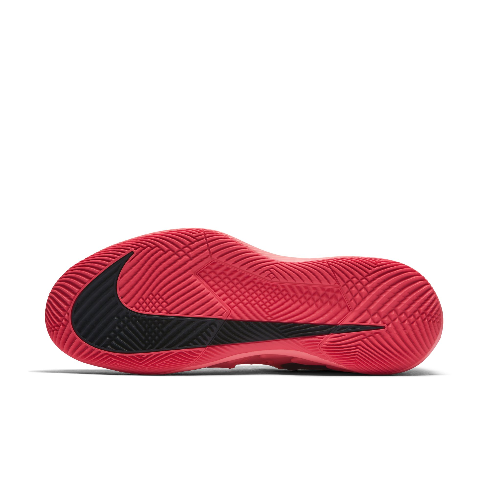roger federer nike air zoom vapor x solar red 6
