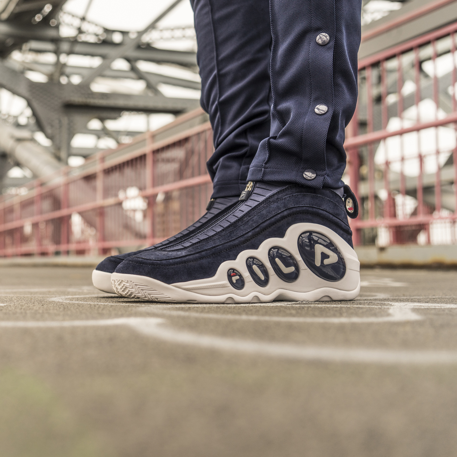 FILA Bubbles Zip Midnight Pack 6