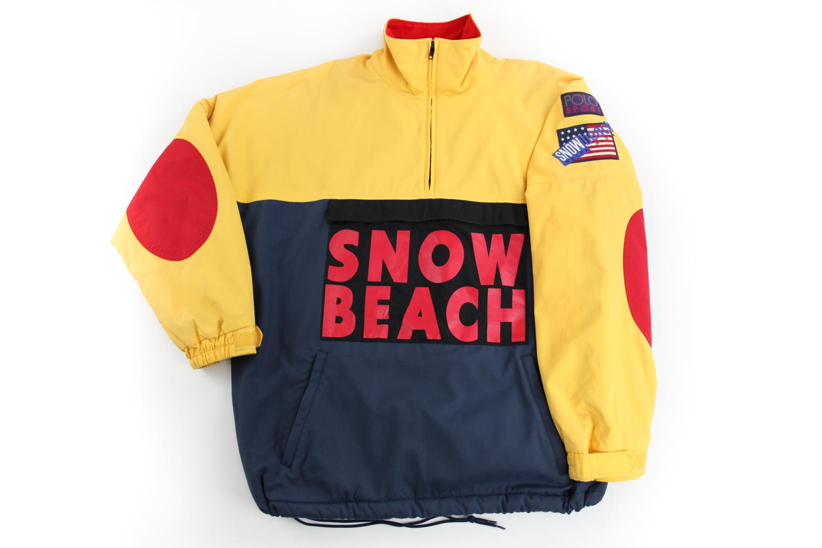 snow beach polo