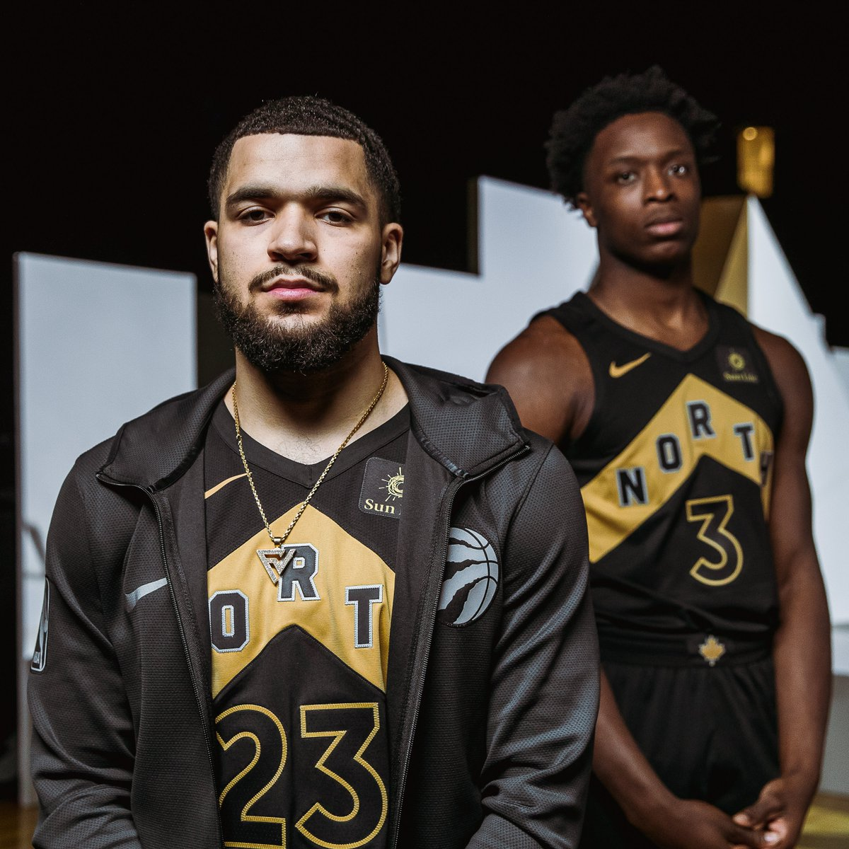 new concept d9d12 9cc49 Nike and the Toronto Raptors Unveil OVO Edition Jerseys ...