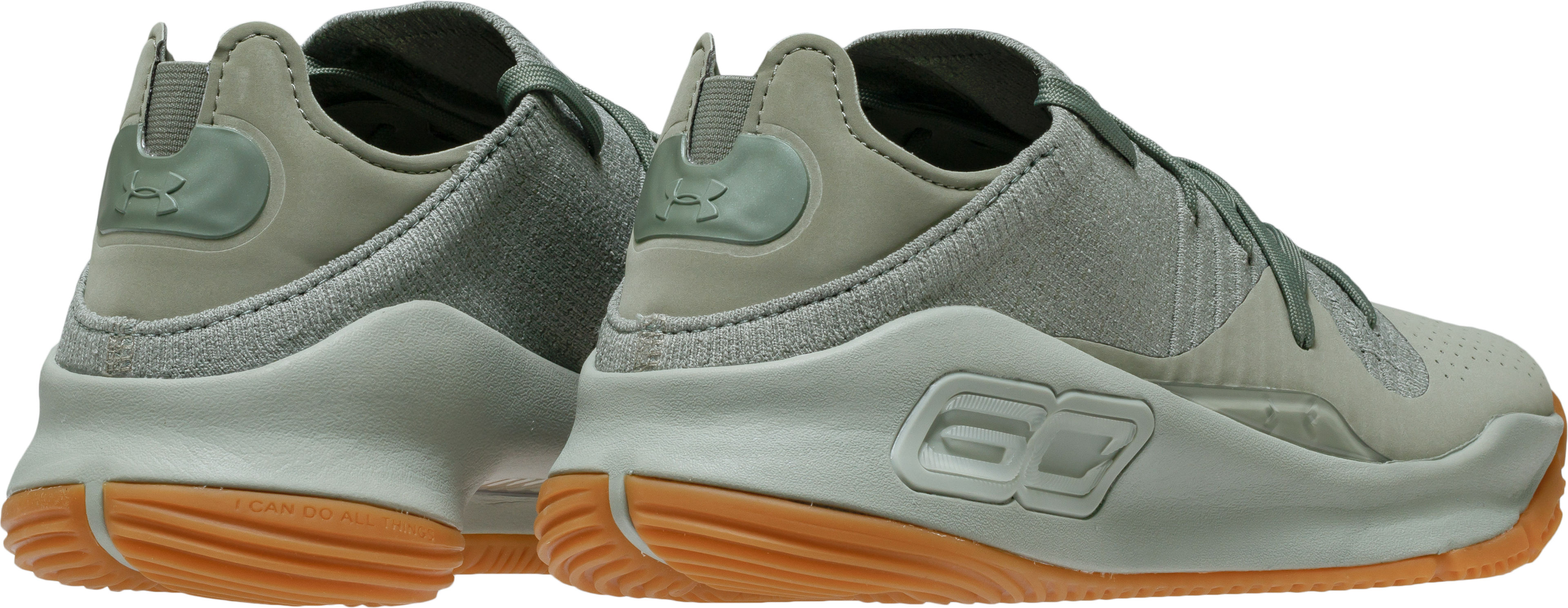 factory price ad7b4 3b32c under armour curry 4 low green gum 6 - WearTesters