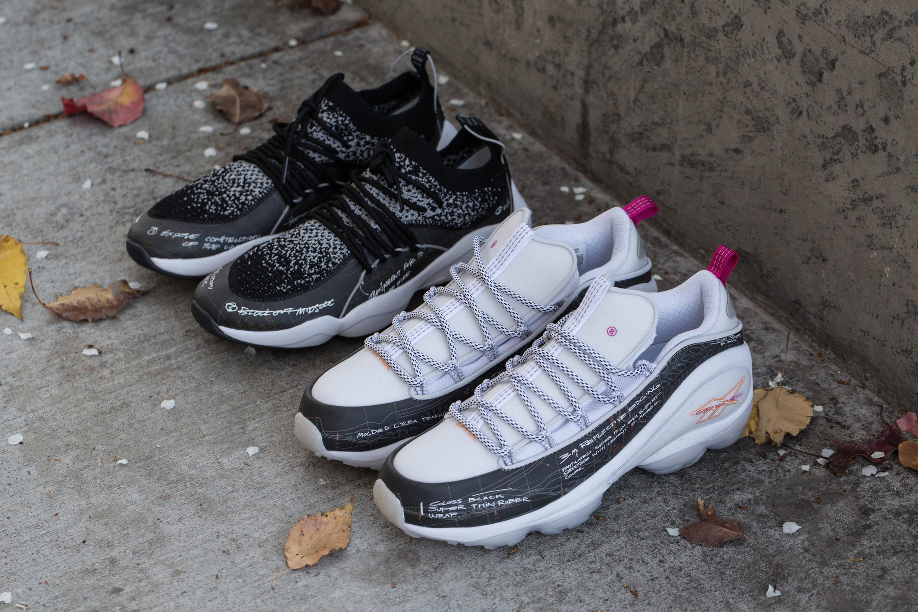 BAIT Reebok DMX Fusion ideation department 1