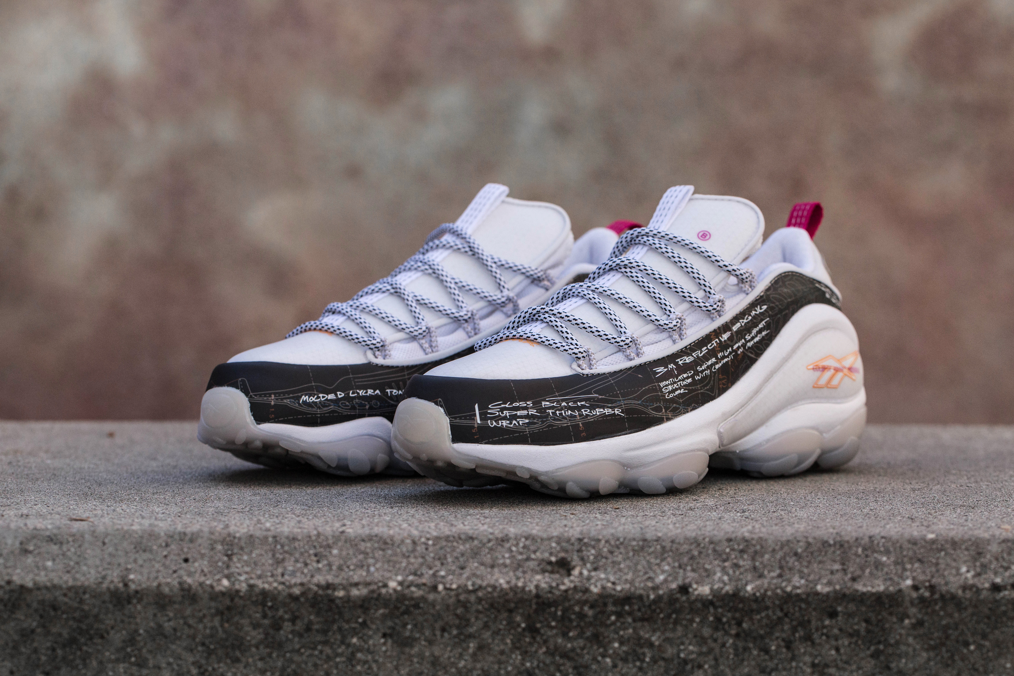 BAIT Reebok DMX Run 10 ideation department