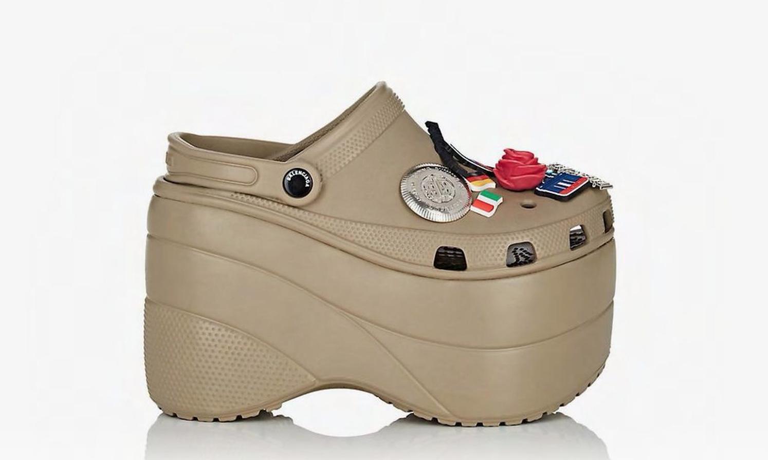 The Balenciaga Platform Croc is the