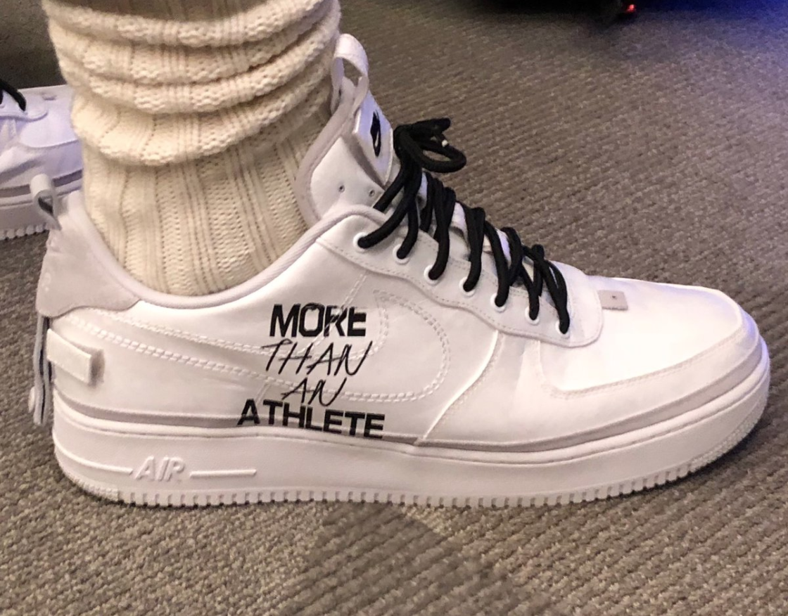 LeBron Responds To Fox News Anchor With Custom Air Force 1 Low1