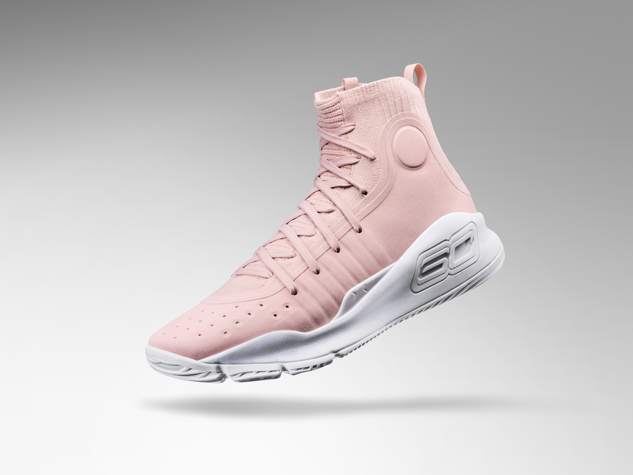 Under Armour Curry 4 Flushed Pink 3