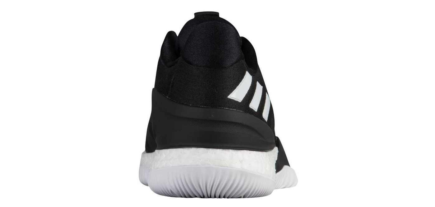 adidas Crazylight Boost 2018 ftwr whitegrey onegrey three