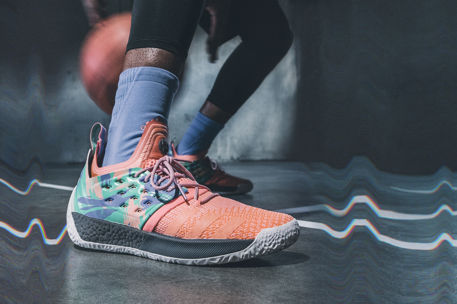 adidas harden vol 2 california dreamin