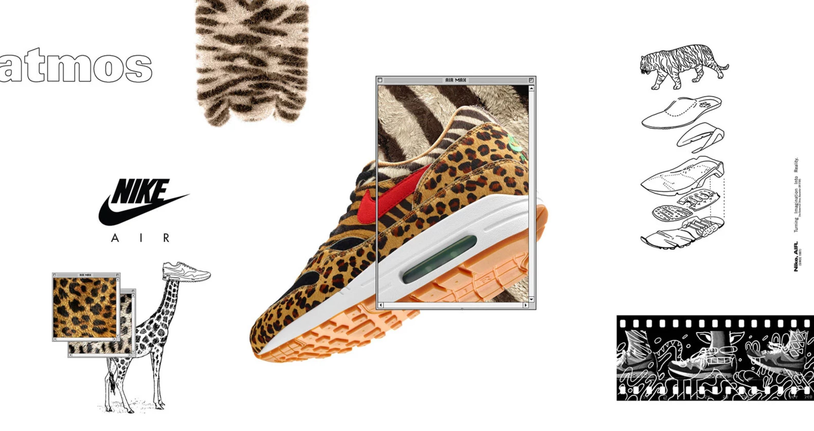 atmos animal pack 2.0 nike air max 1