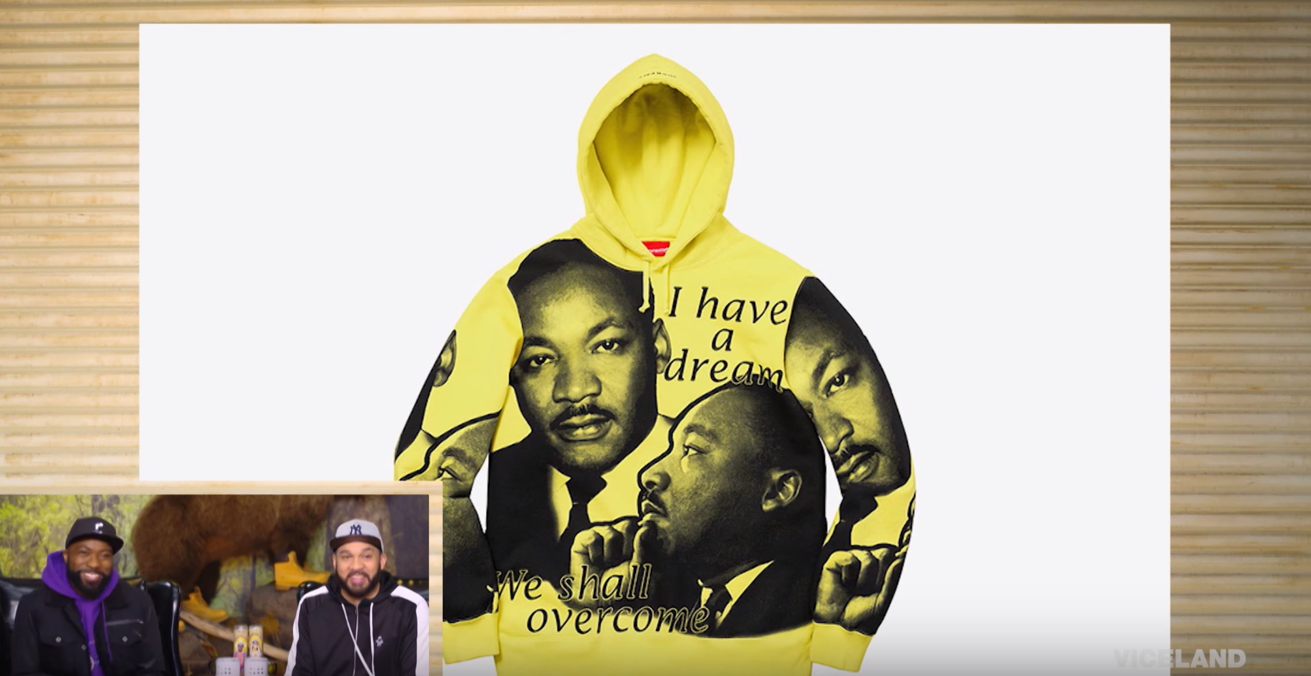 desus and mero supreme MLK collection