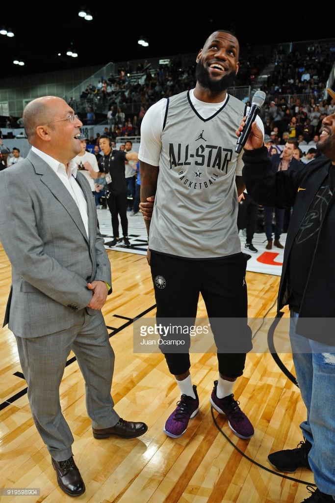 quality design 697e2 51b0f LeBron Unveils the Nike LeBron 15 Low During All-Star Media ...