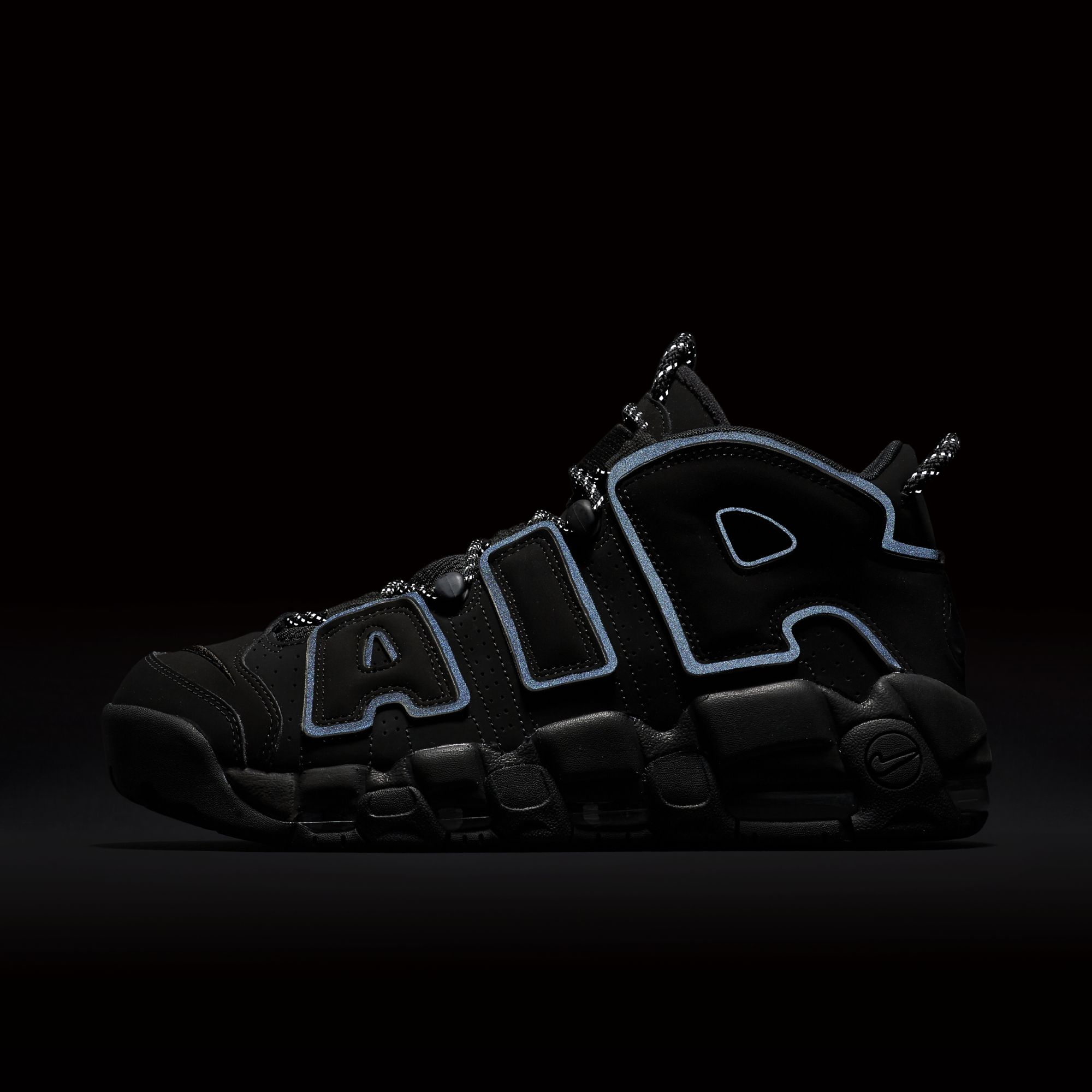 nike air more uptempo triple black 3