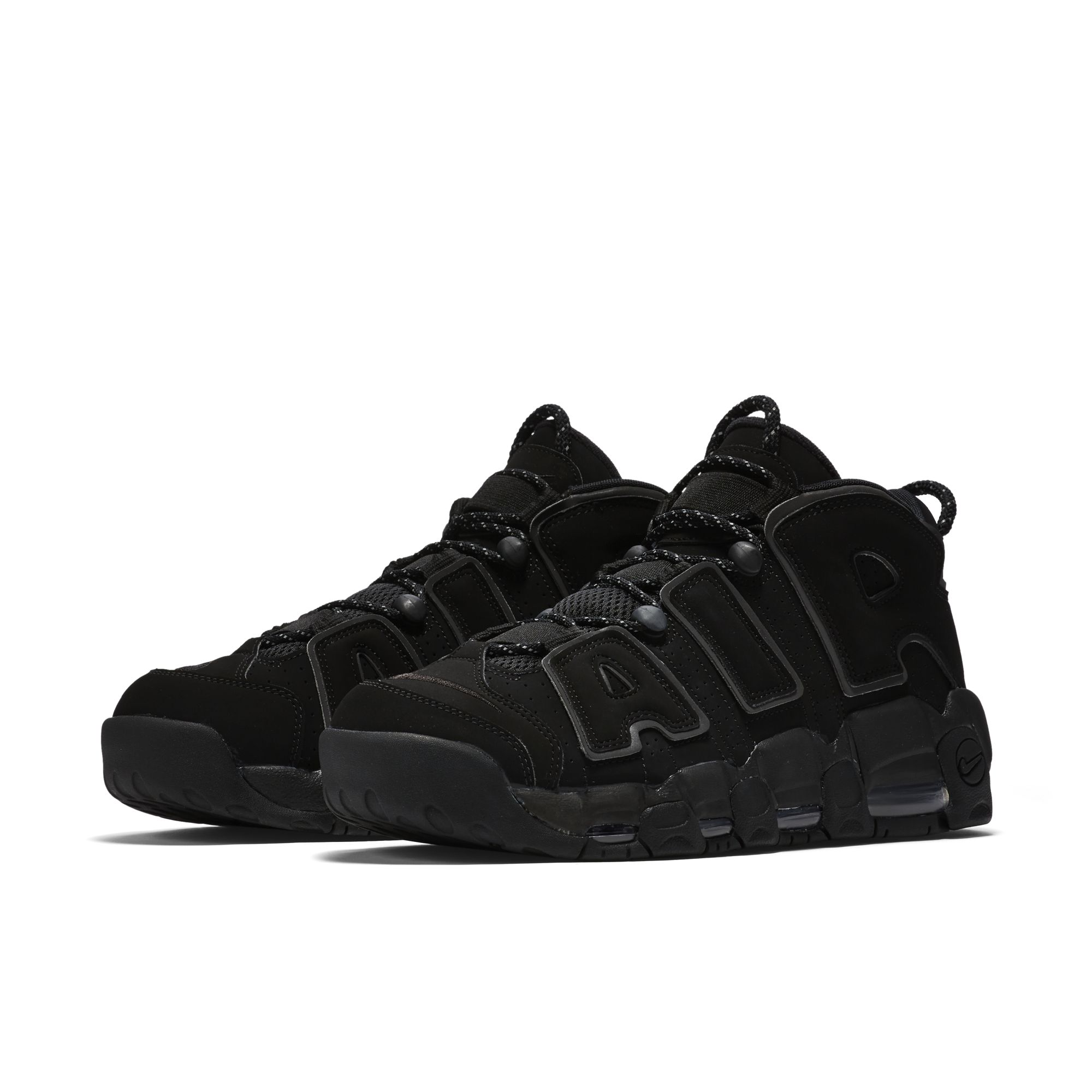 Nike Air More Uptempo in Triple Black