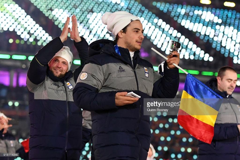 romania winter olympics peak uniforms