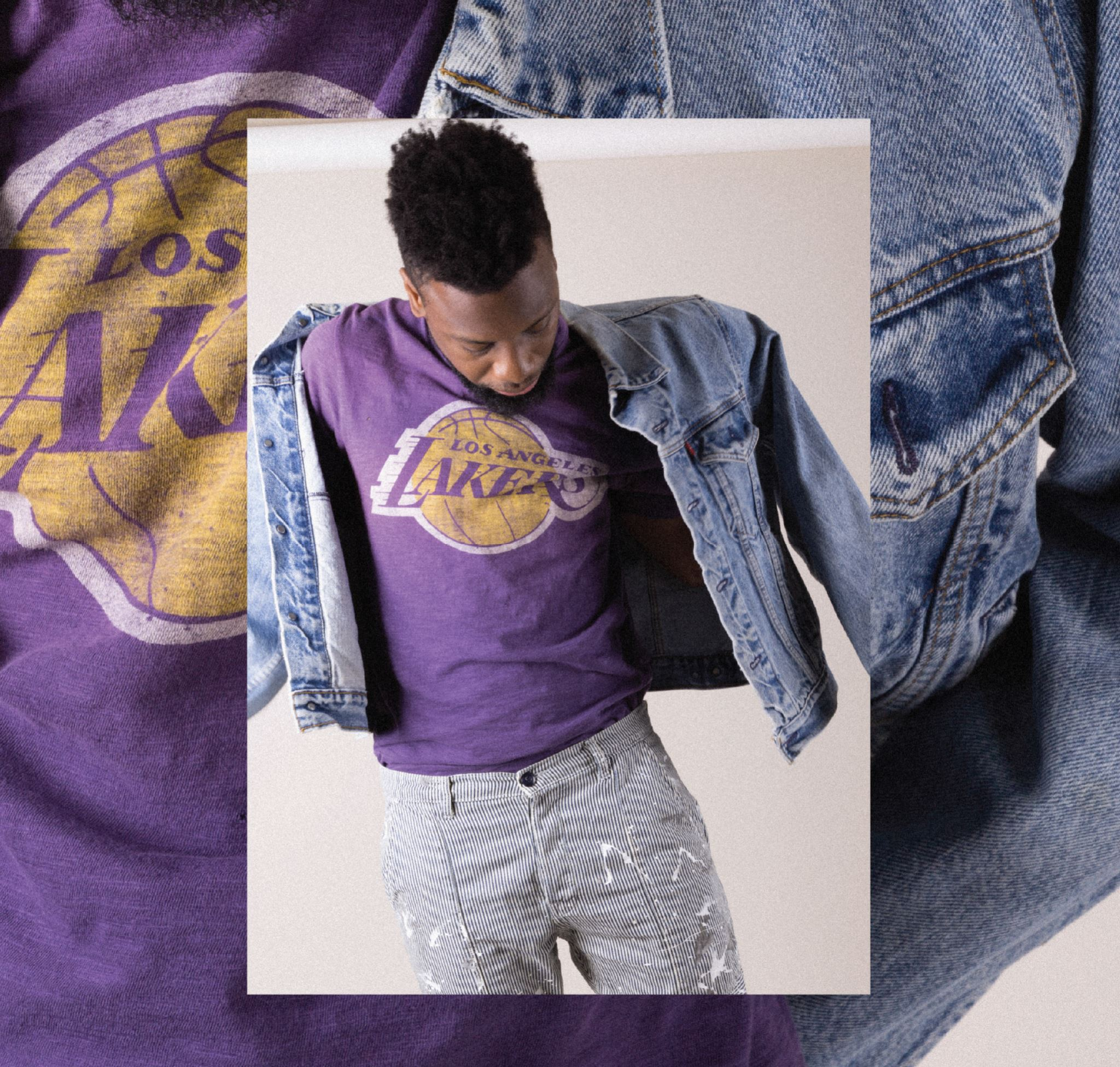 47 dye house collection lakers