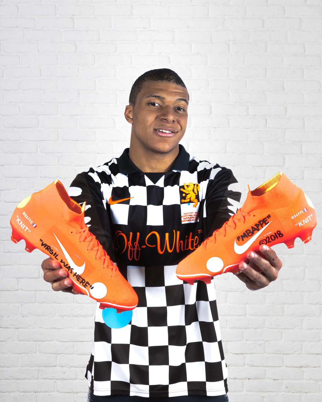 Nike Mercurial Vapor 360 Virgil Abloh kylian mbappe