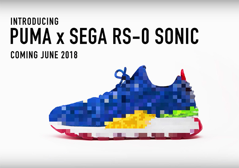Sonic The Hedgehog To Collaborate With Puma For The Sega Rs 0 Sonic Weartesters