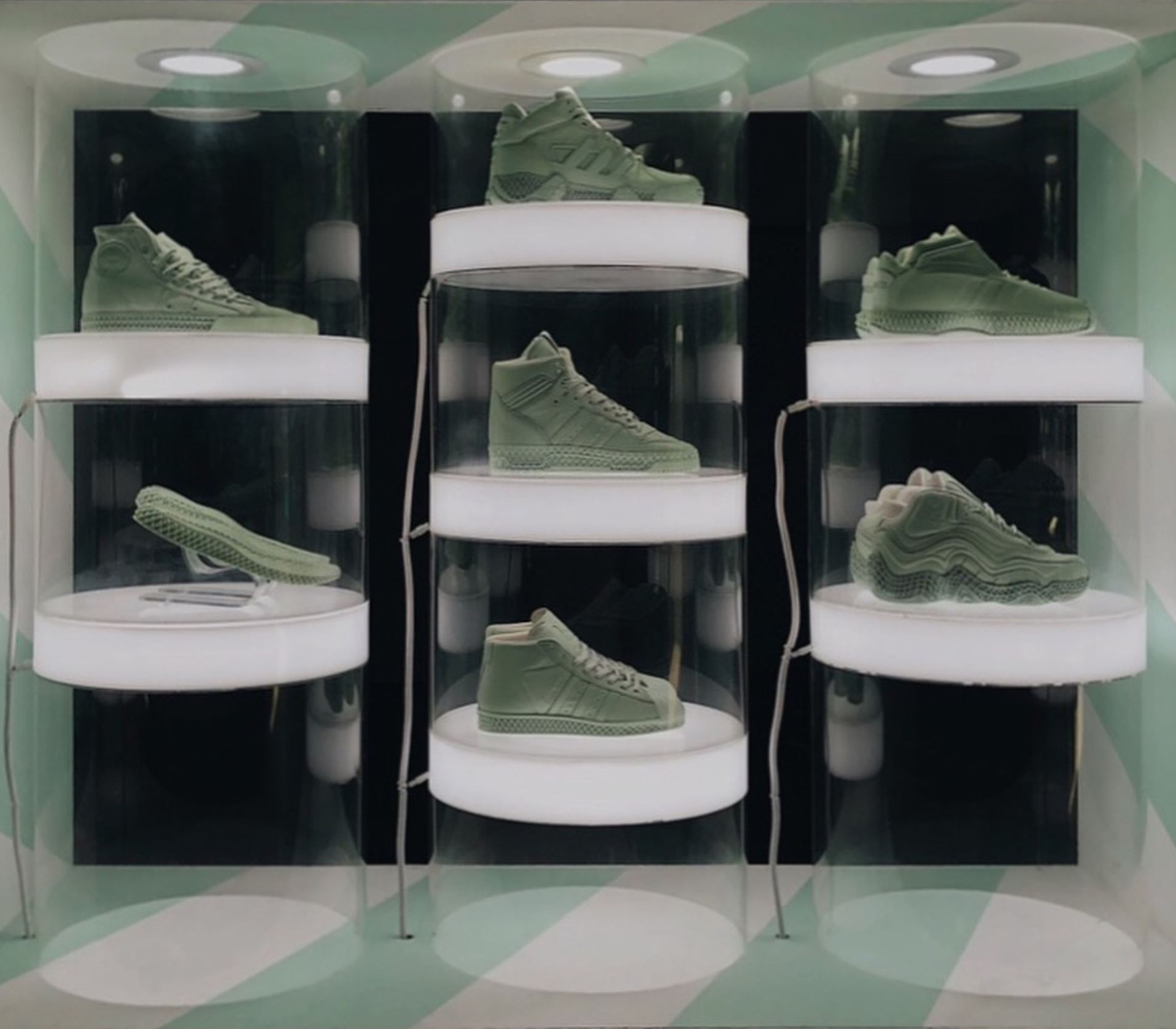 adidas originals futurecraft 4D display