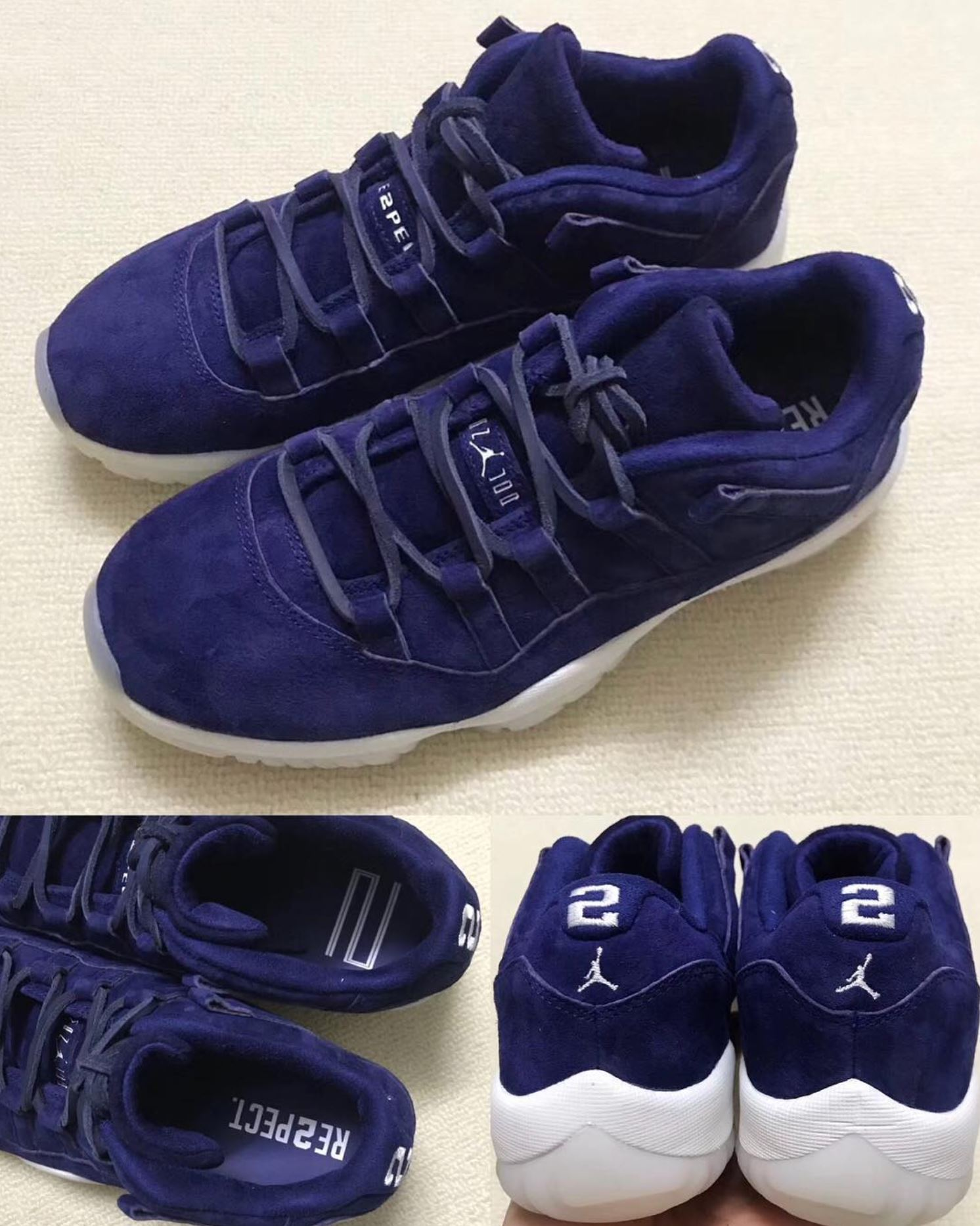 separation shoes 8bc72 22690 Expect the Air Jordan 11 Low 'RE2PECT' to Arrive in April ...
