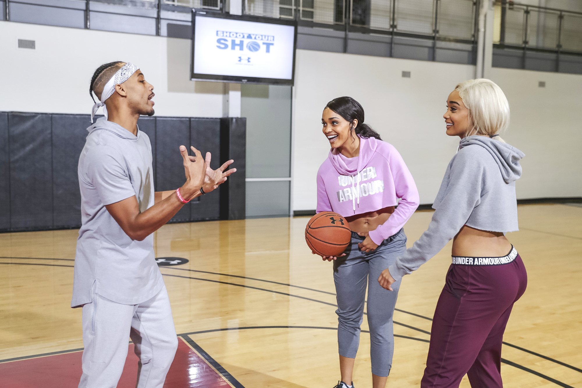 gonzalez twins shoot your shot under armour