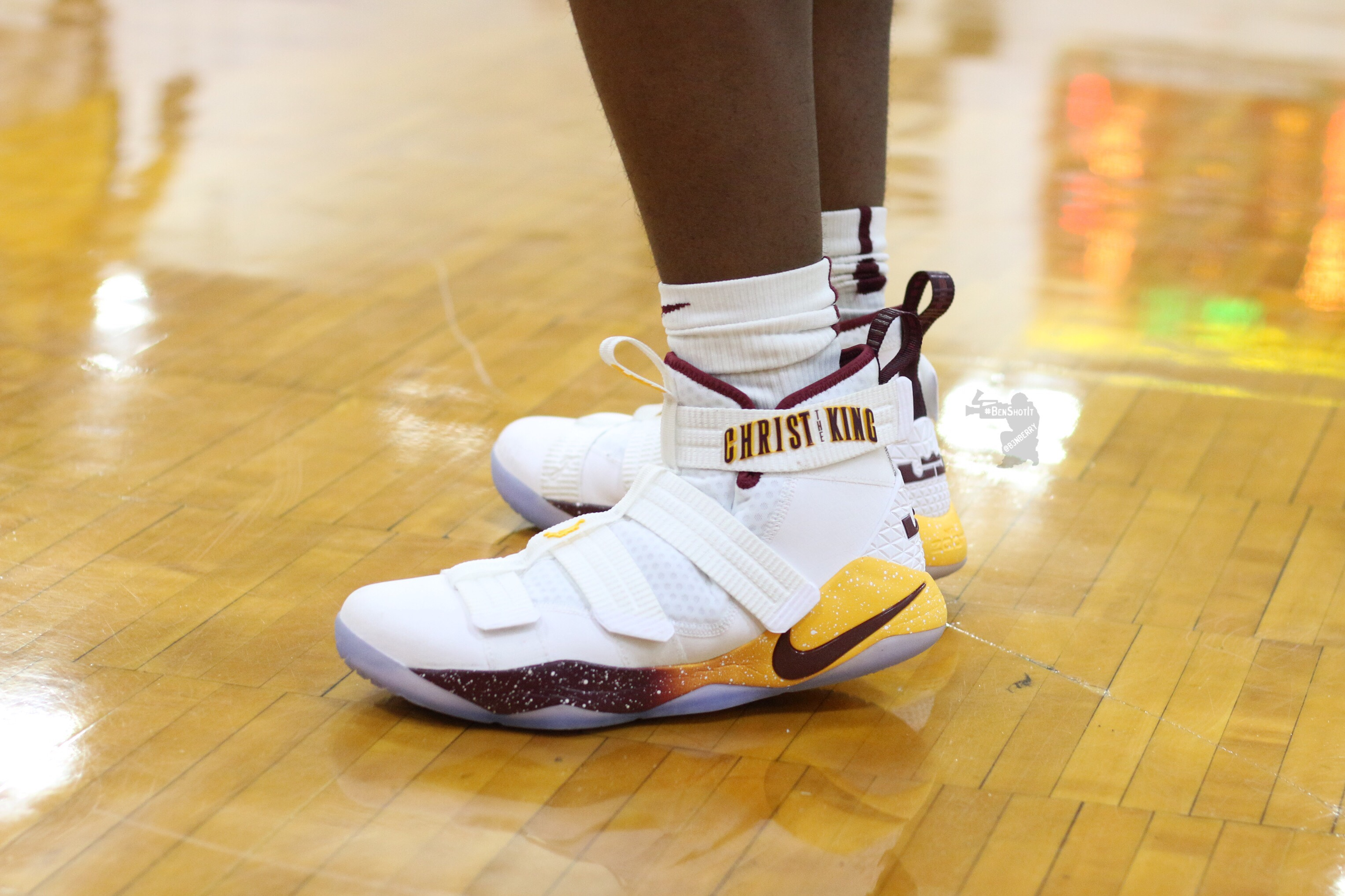 lebron soldier 11 christ the king