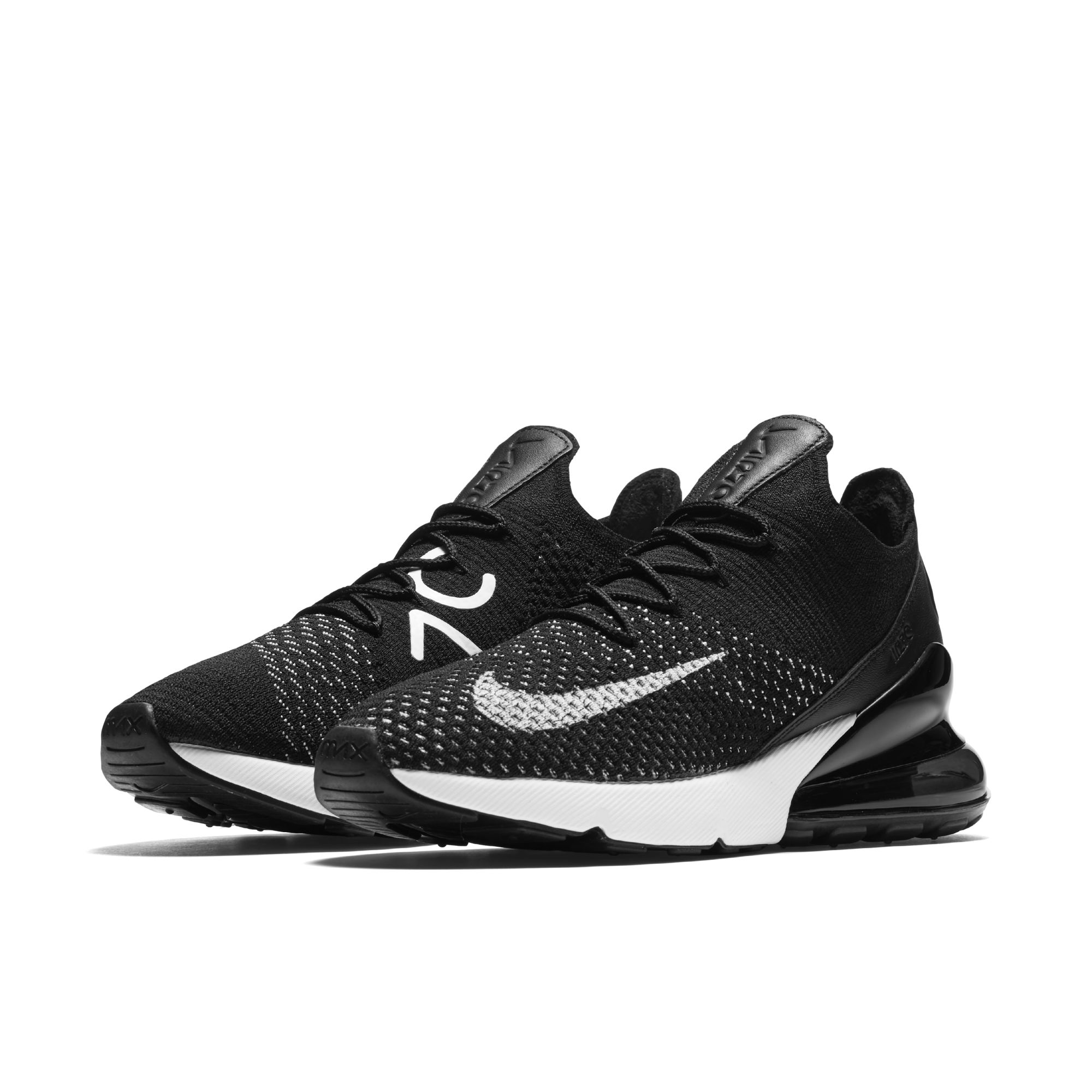 separation shoes 27981 16cd3 nike air max 270 flyknit black white womens - WearTesters