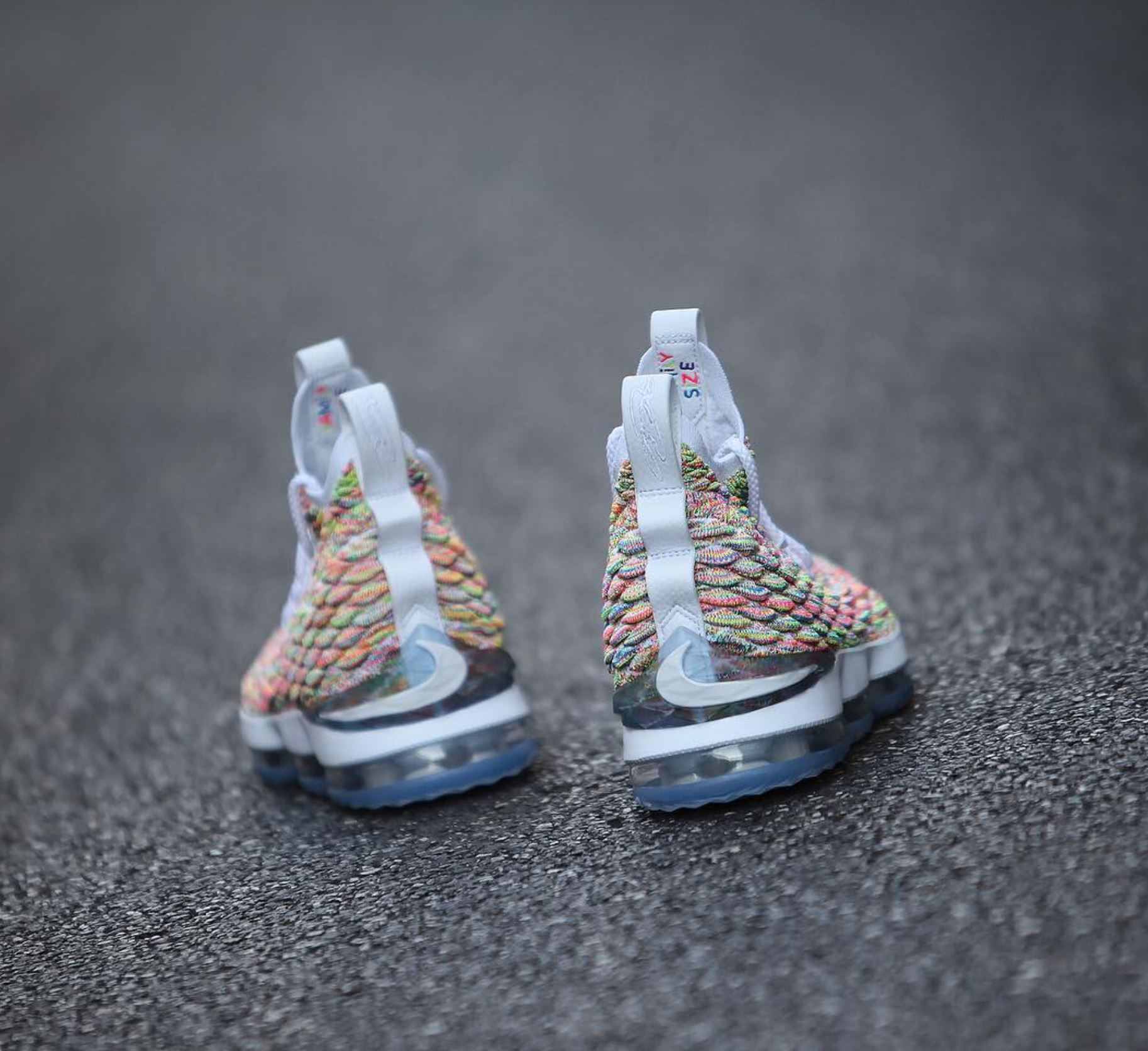 new style 53d5d 21d71 nike lebron 15 fruity pebbles 13 - WearTesters