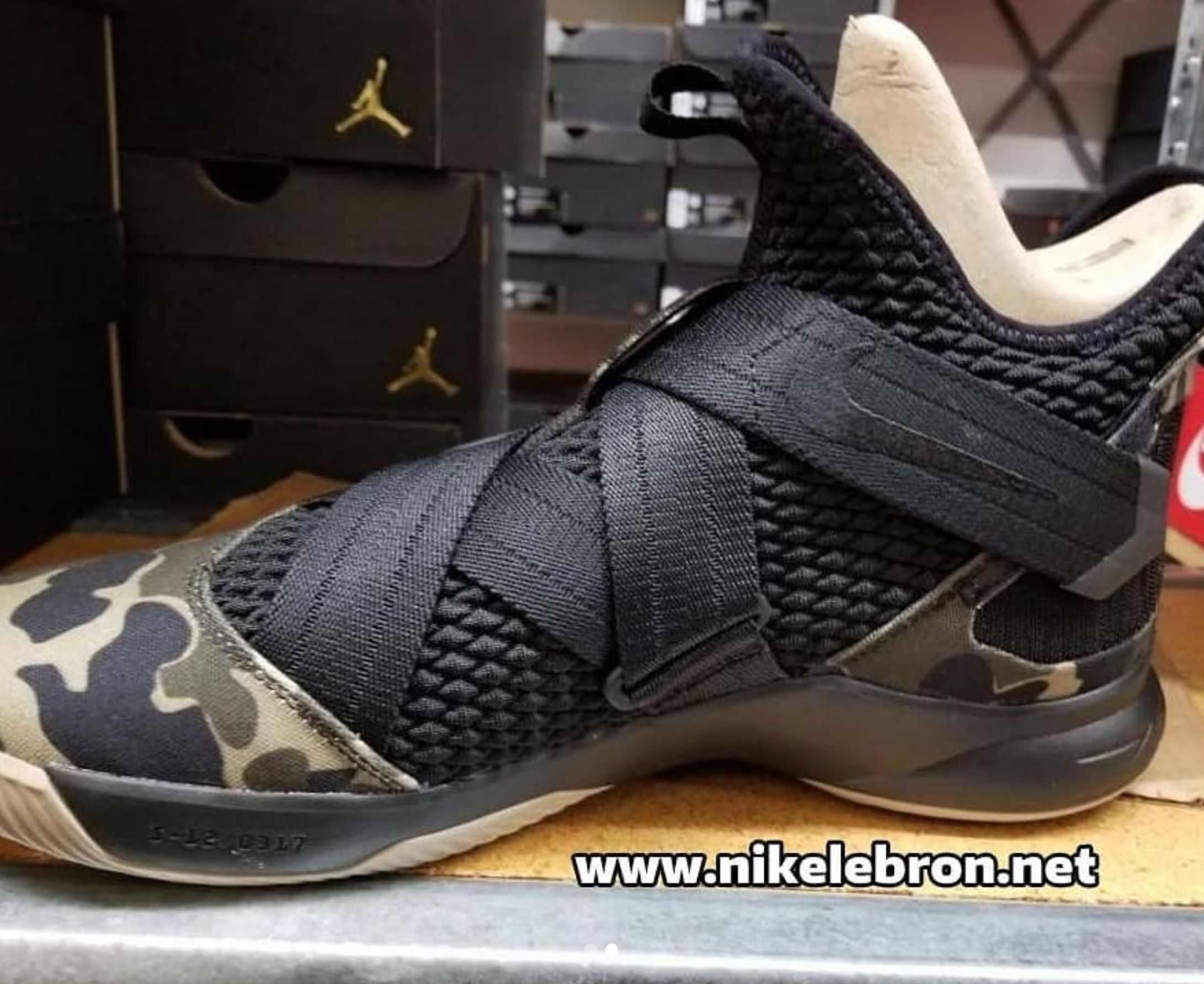 the LeBron Soldier 12