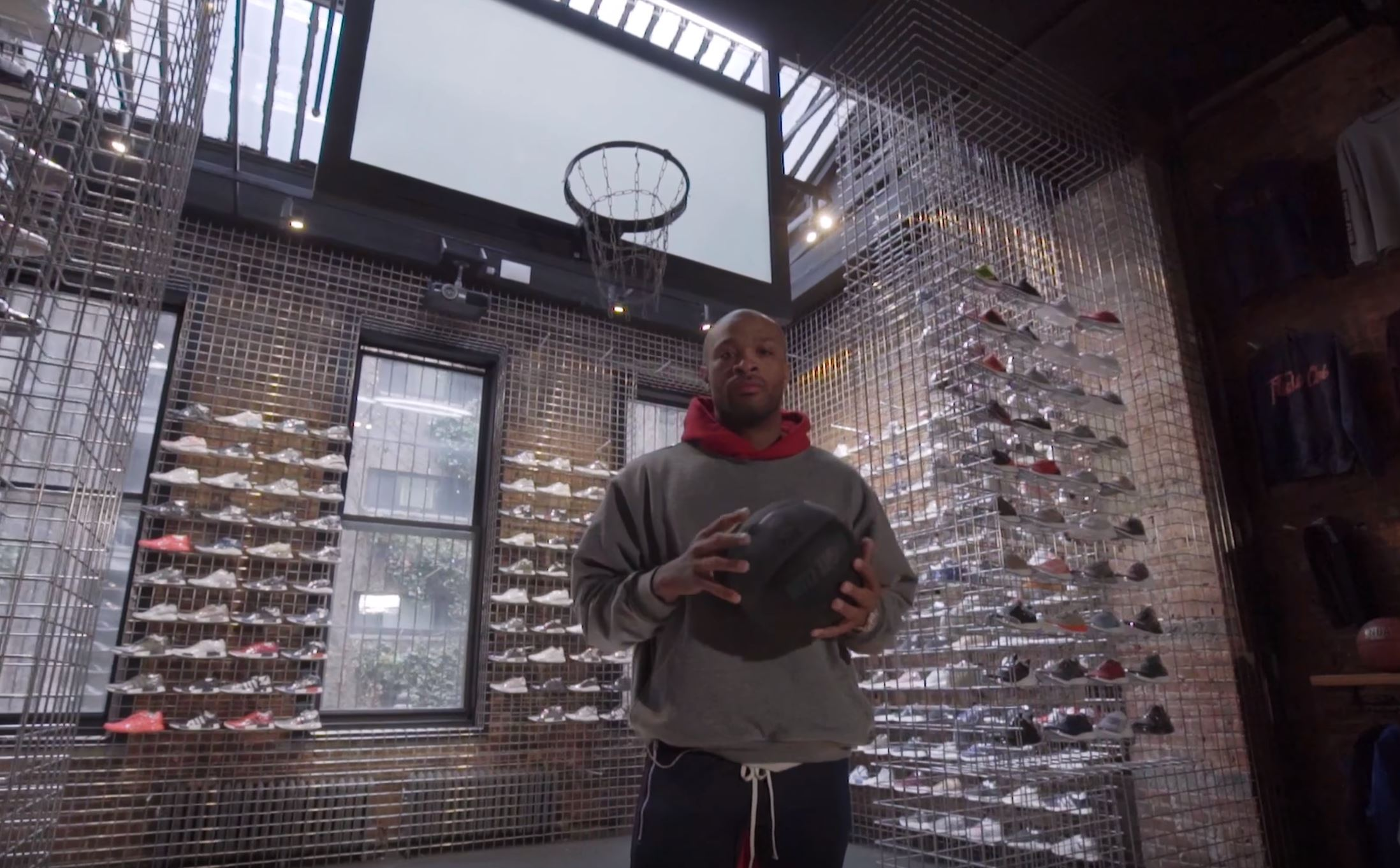 pj tucker sneaker shopping