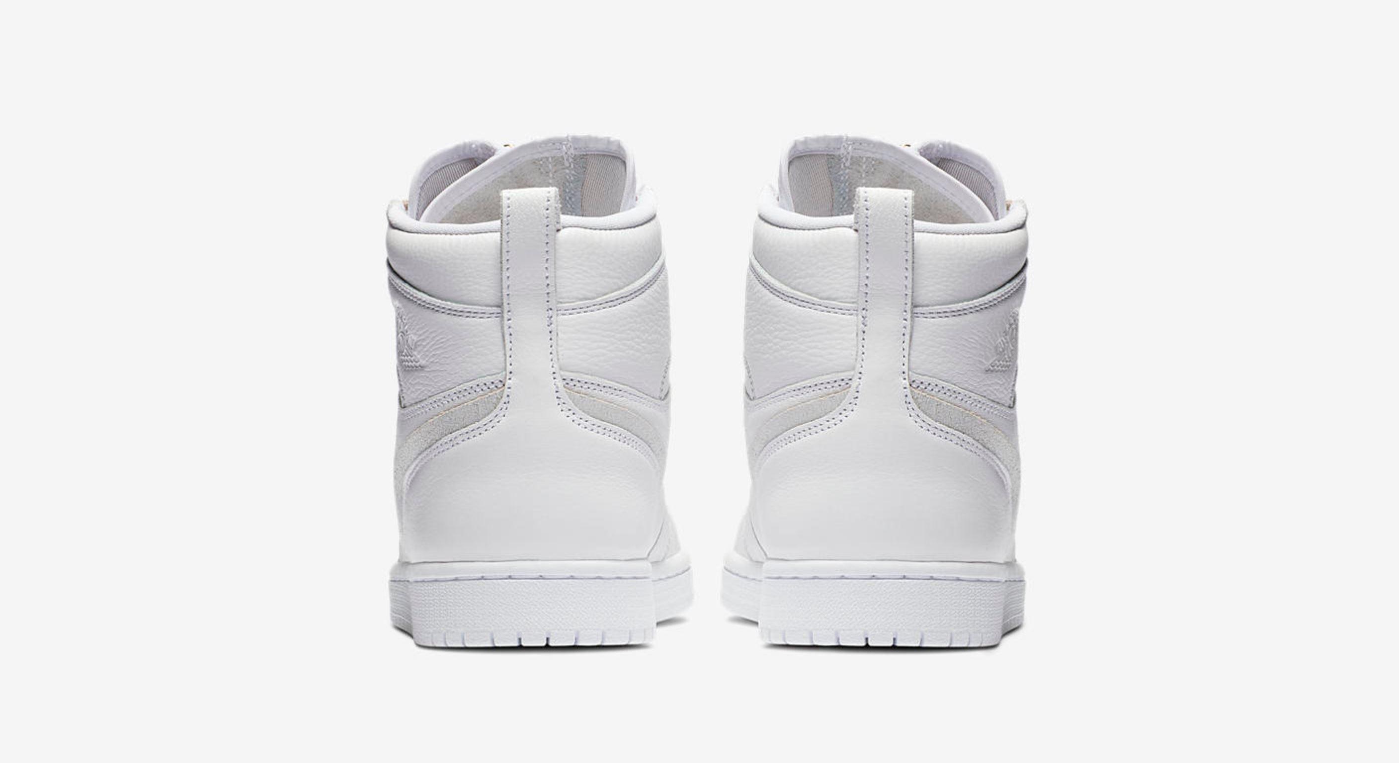 womens air jordan 1 high zip white 2