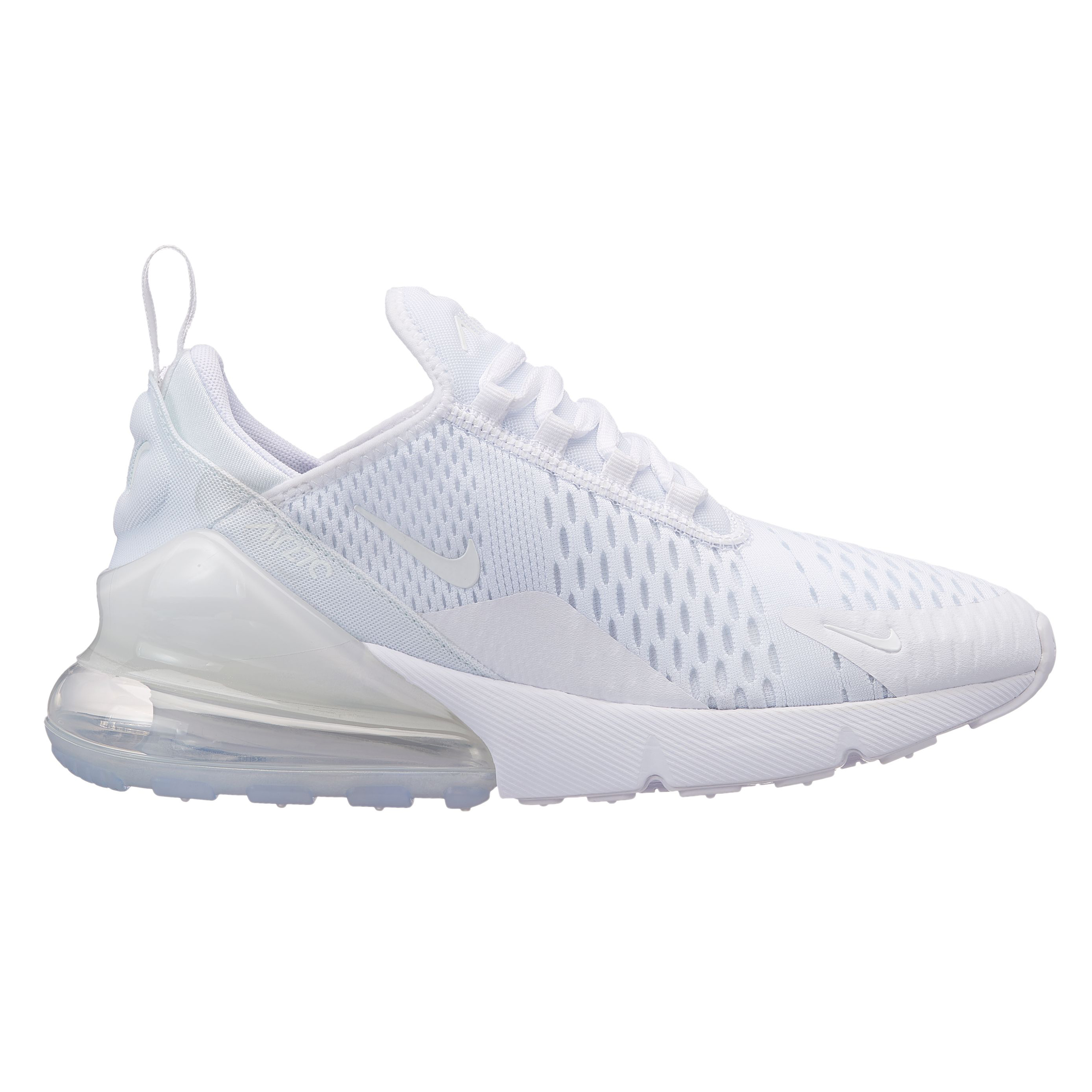 womens nike air max 270 triple white