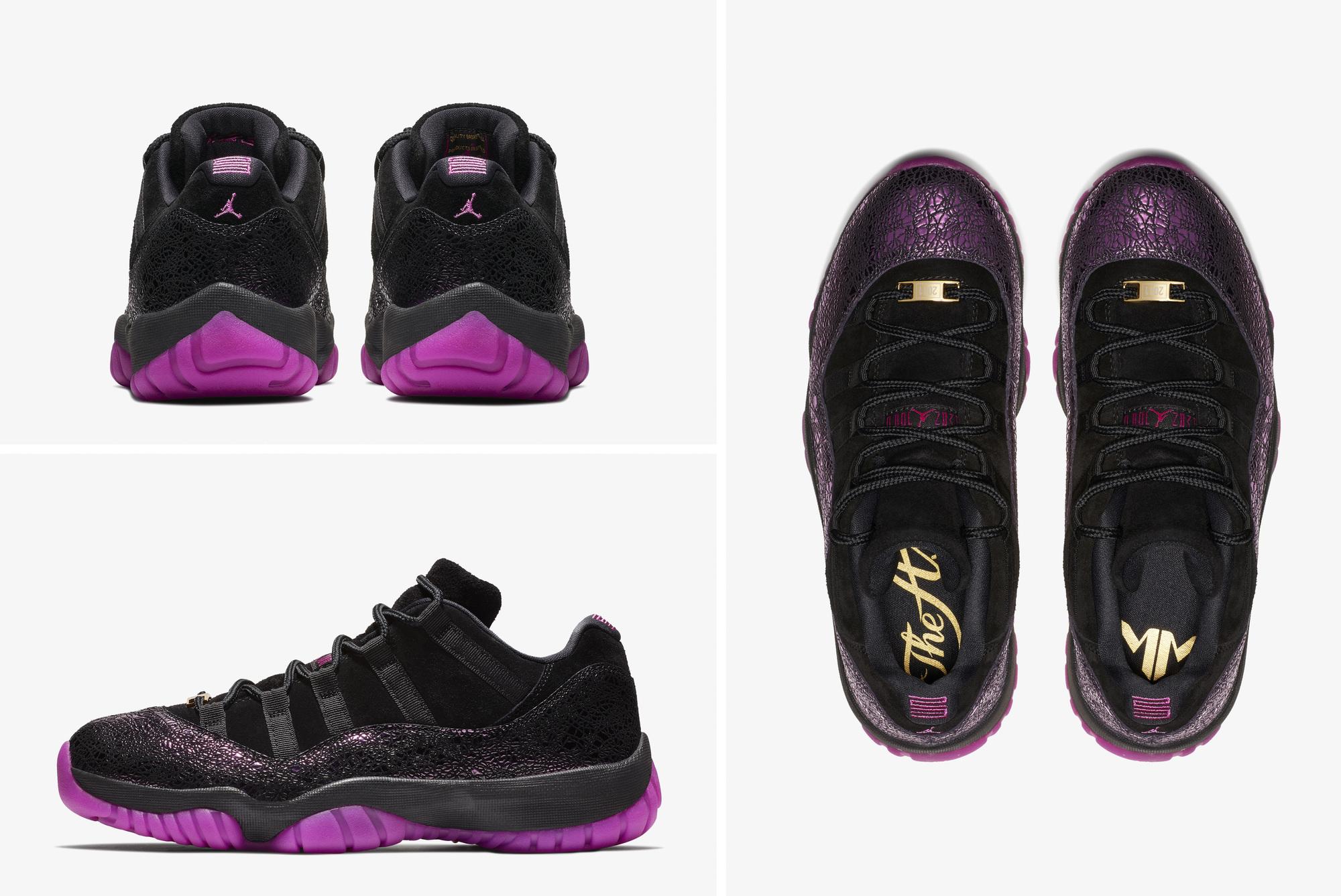 Air Jordan 11 Low Maya Moore art of a champion