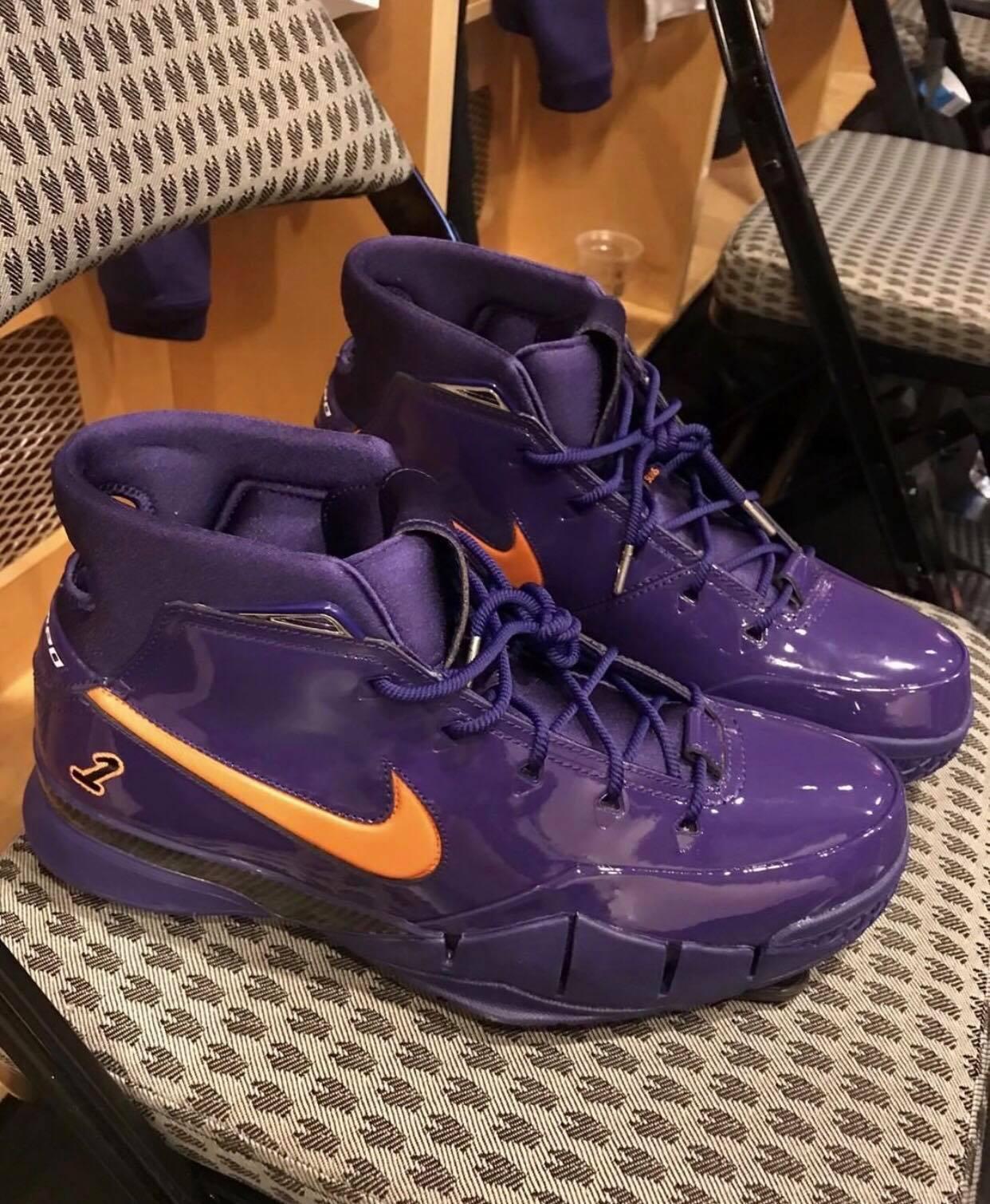 devin booker Nike Kobe 1 Protro PE