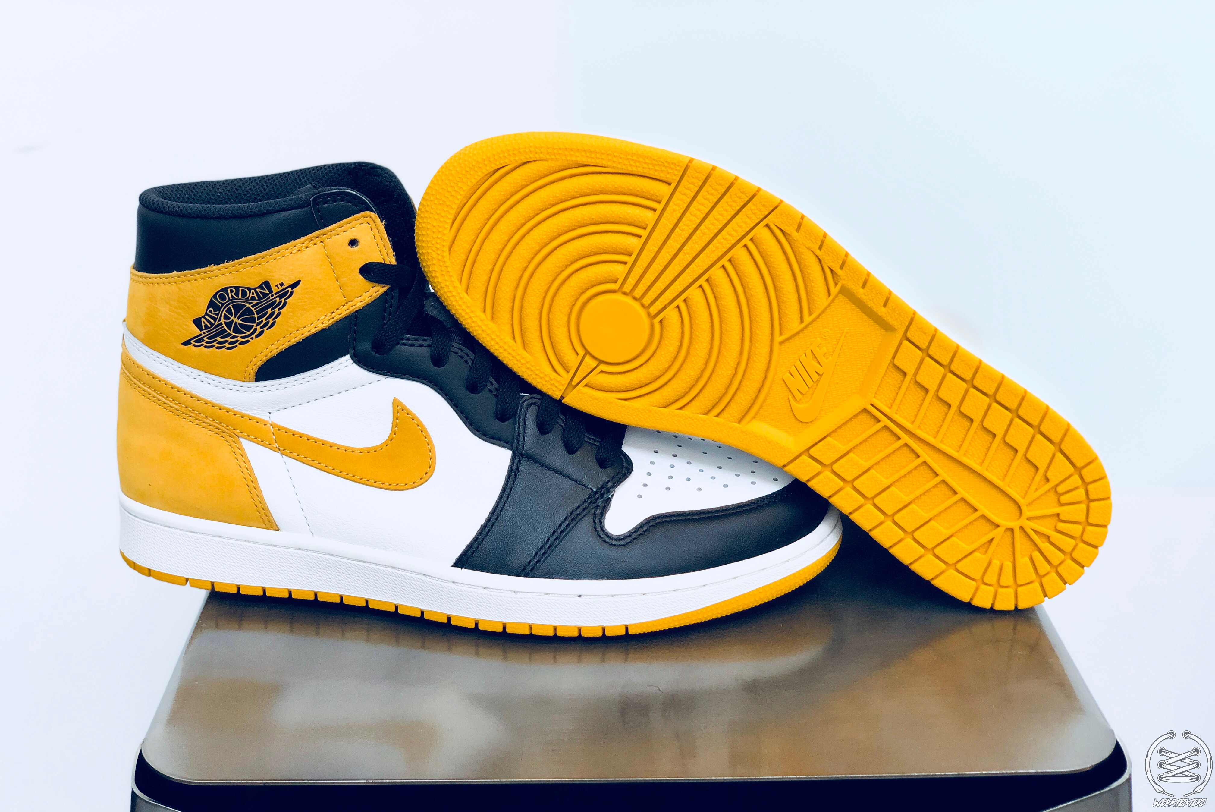 low priced 10b20 21b5e Air Jordan 1 Yellow Ochre Best Hand in the Game collection 1 ...