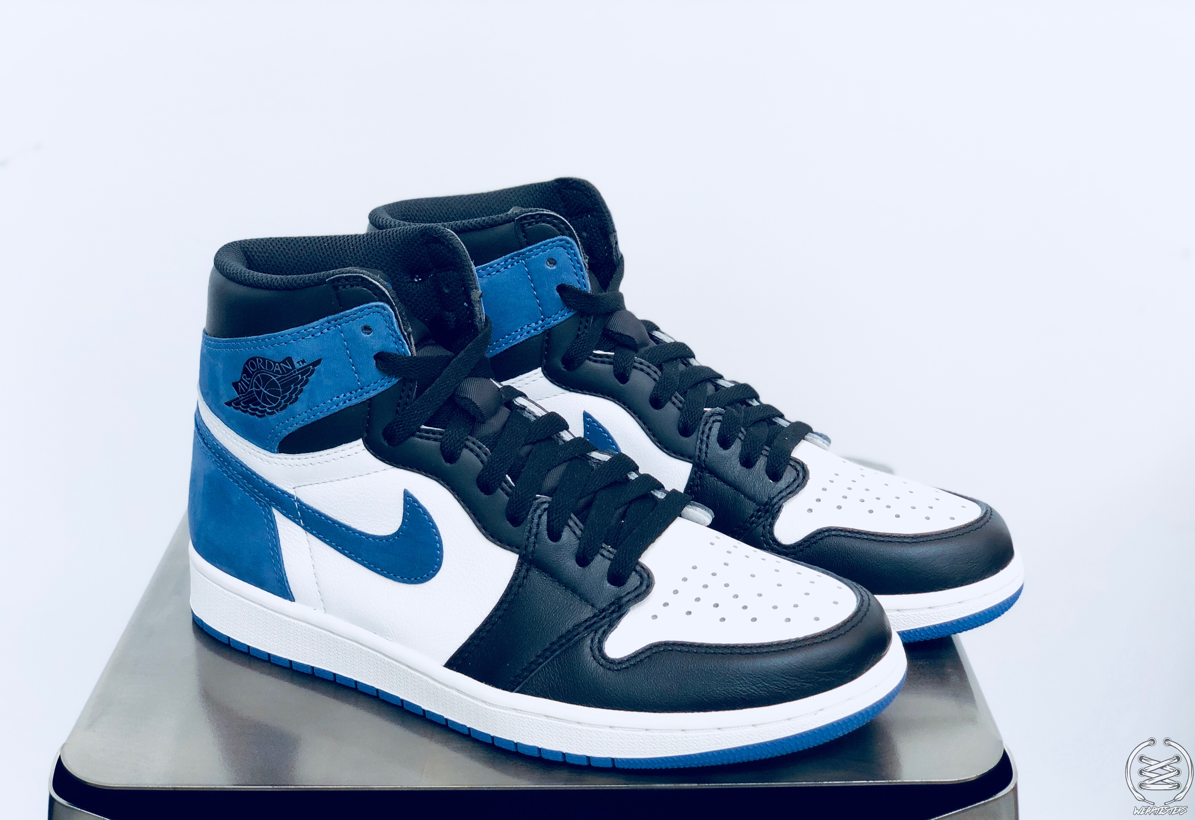 Air Jordan 1 Blue Moon Best Hand In The Game Collection 1 Weartesters