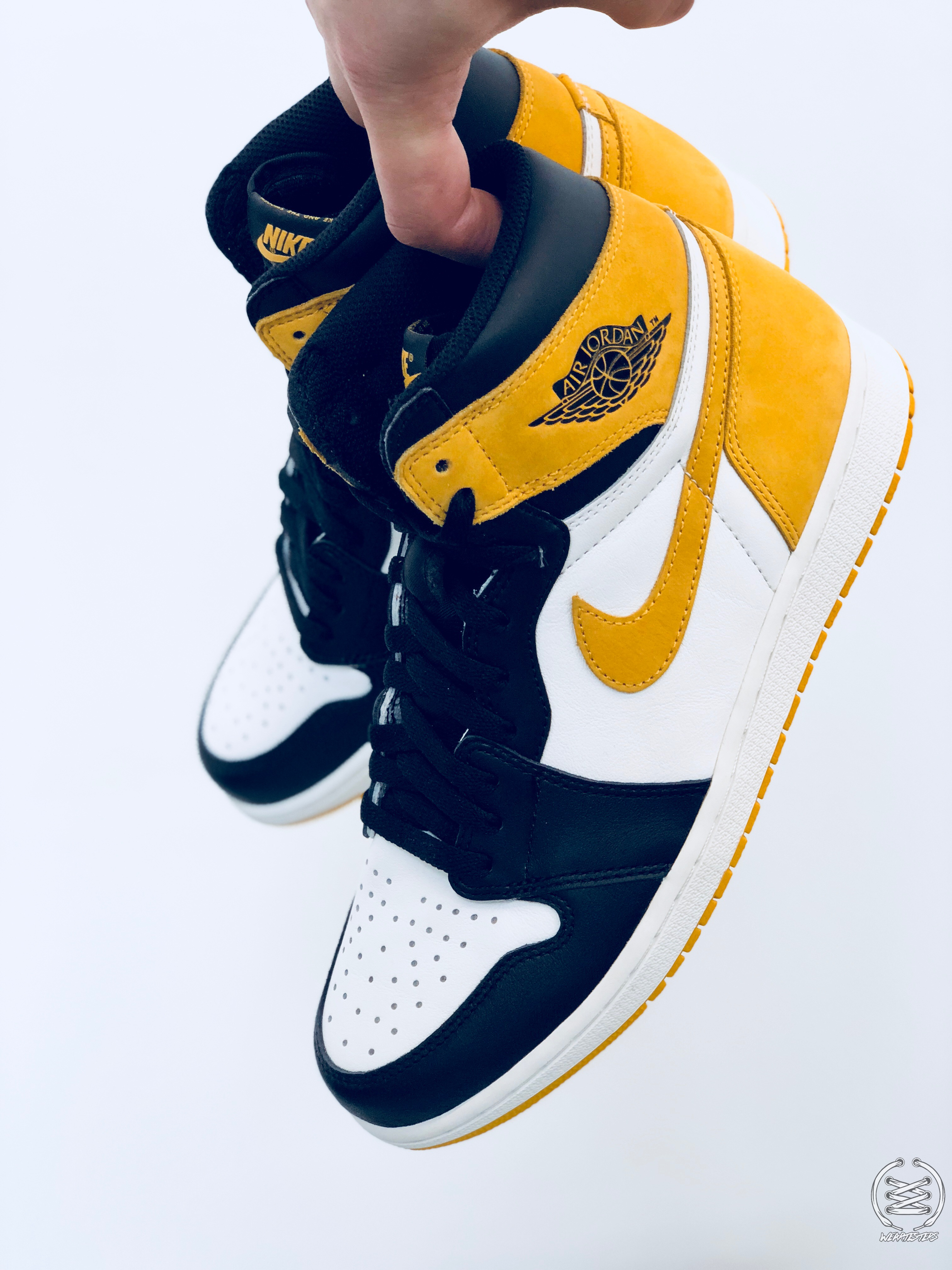 half off 09fd3 1c2e8 Air Jordan 1 Yellow Ochre Best Hand in the Game collection ...