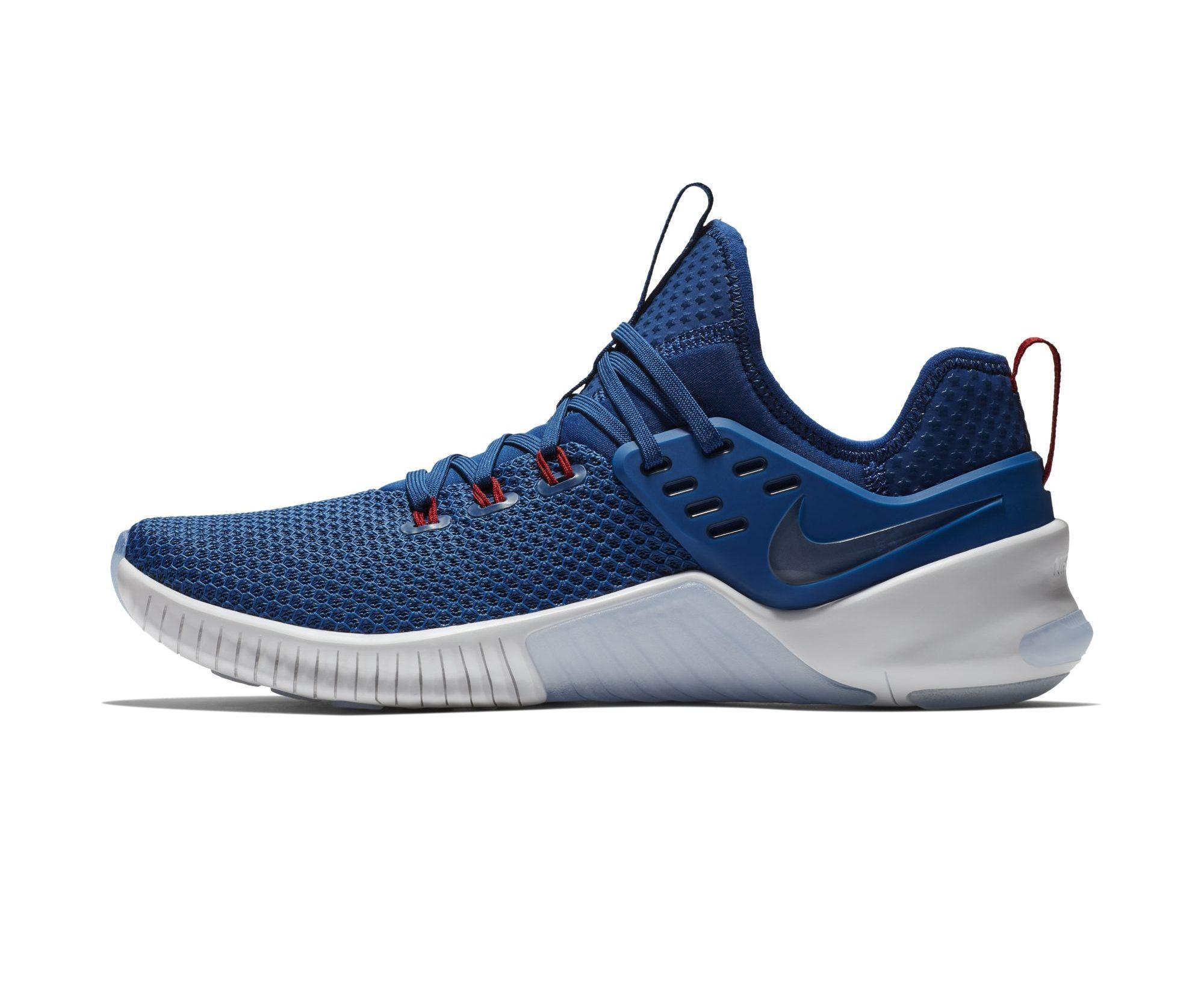 Nike Metcon Free 'Blue:White:Red' 3