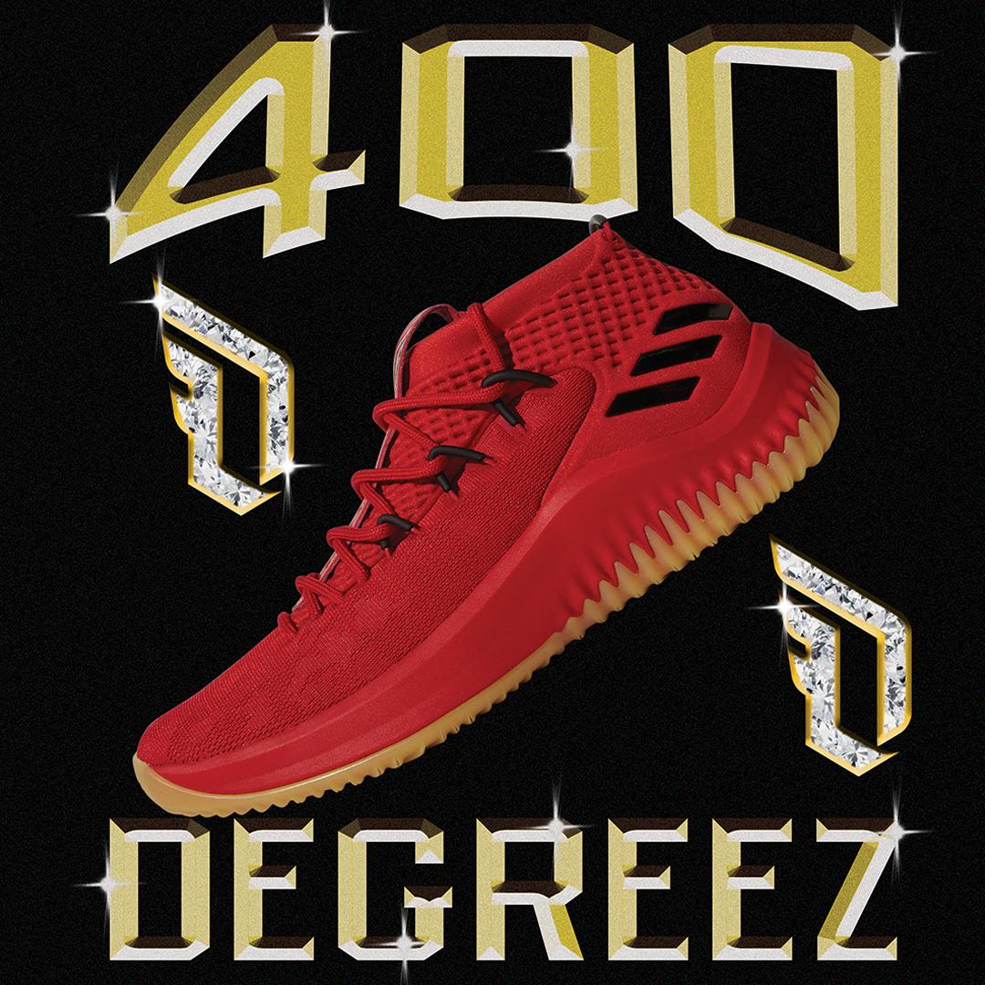 adidas dame 4 400 degreez